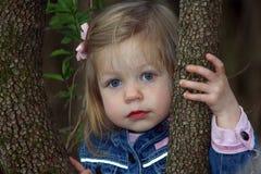 Kleines Mädchen-Portrait Stockfoto