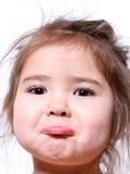 Kleines Mädchen-Schellfisch Lizenzfreie Stockbilder