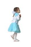 Kleines Mädchen-Tanzen Lizenzfreies Stockbild