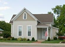 Kleines Mittelwesten-Haus Stockfoto
