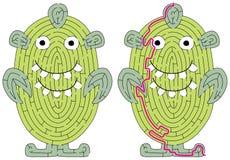 Kleines Monsterlabyrinth lizenzfreie stockfotos