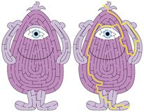 Kleines Monsterlabyrinth stockfoto