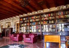 Kleines Museum und eine Bibliothek in Budva-Zitadelle Stockbilder