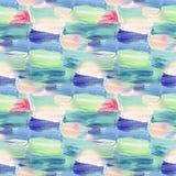 Kleines Muster mit Stundenzeiger gezeichneten Anschlägen Nahtlose Beschaffenheit in der Impressionismusart für Netz, Druck, Geweb vektor abbildung