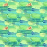 Kleines Muster mit Stundenzeiger gezeichneten Anschlägen Nahtlose Beschaffenheit in der Impressionismusart für Netz, Druck, Geweb stock abbildung