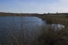 Kleines natürliches Reservoir Stockfotografie