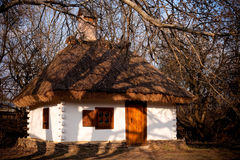 Kleines natürliches Haus Stockbild