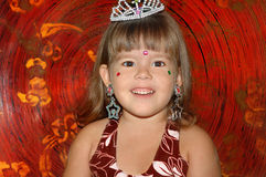 Kleines nettes Mädchen Stockfotografie
