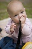 Kleines nettes Mädchen stockbild