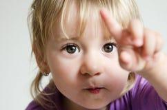 Kleines nettes Mädchen Stockfotos
