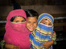 Kleines nettes Mädchen für Bangladesch Lizenzfreies Stockfoto