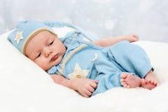 Kleines neugeborenes Schätzchen Stockfotografie
