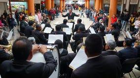 Kleines Orchesterspielen lizenzfreies stockbild