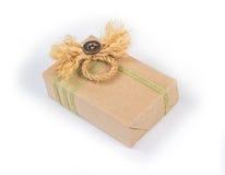 Kleines Paket eingewickelt Lizenzfreie Stockbilder