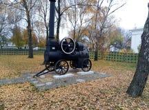 kleines paravozik, Poltava-Region Lizenzfreies Stockbild