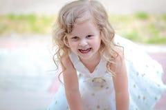 Kleines Prinzessinkleid Lizenzfreies Stockbild
