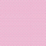 Kleines Quadratweiß des rosa Hintergrundschachbrettmusters vektor abbildung