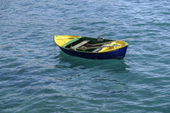 Kleines Reihenboot Stockfotografie
