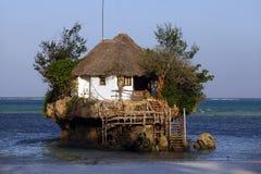 Kleines Restaurant der Felsen Lizenzfreie Stockbilder