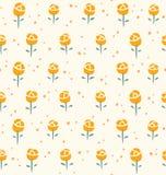 Kleines Rosemuster Stockbilder