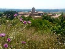 Kleines südliches französisches Dorf Lizenzfreie Stockfotografie