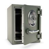 Kleines Safe geöffnet Lizenzfreie Stockfotografie