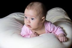 Kleines Schätzchen des schönen Kindes Stockbild
