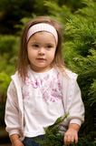 Kleines schönes Mädchen Stockfotos