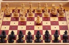 kleines Schach lizenzfreie stockfotografie