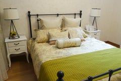 Kleines Schlafzimmer Stockbild