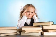 Kleines Schulmädchen Lizenzfreie Stockfotos