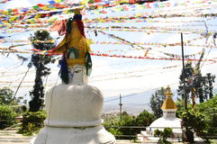 Kleines swayambhunath Stockbild