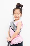 Kleines thailändisches Kind im Trachtenkleid Lizenzfreie Stockfotografie