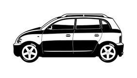 Kleines utilitie Auto Stockfoto