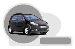 Kleines utilitie Auto Lizenzfreies Stockfoto