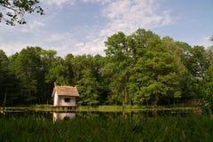 Kleines Vogelhaus Lizenzfreies Stockbild