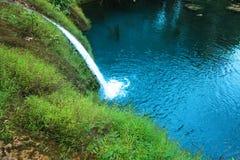 Kleines Wasser in einem wilden Stockfotos