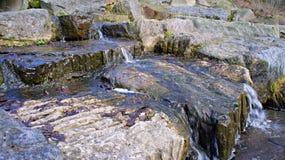 Kleines Wasserfall-Abwasser Lizenzfreies Stockfoto