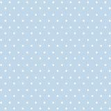 Kleines weißes Polkadots Stockfoto