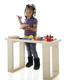 Kleines Werkzeug-Mädchen Lizenzfreies Stockfoto