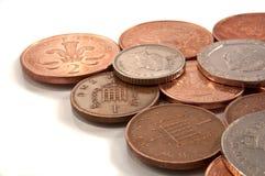 Kleingeld stockbild