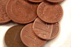 Kleingeld lizenzfreie stockfotos