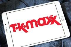 Kleinhandels het bedrijfembleem van TK Maxx Royalty-vrije Stock Foto's