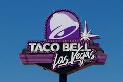 Kleinhandels het Snelle Voedselplaats van Taco Bell Taco Bell is een Dochteronderneming van Yum! Merken I stock afbeelding