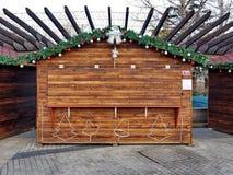 Kleinhandelsafzet bij Kerstmis Royalty-vrije Stock Afbeeldingen