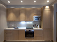 Kleinküche Stockfoto