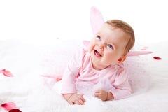 Kleinkind in einer feenhaften Ausstattung Lizenzfreie Stockfotografie