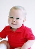 Kleinkind-Junge - lächelnd stockfotografie