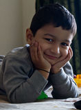 Kleinkind-Lächeln lizenzfreie stockfotos