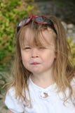 Kleinkind mit Sonnenbrillen Lizenzfreies Stockbild